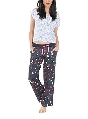 Play Boy Nightwear Pyjama Stars Of Playboy