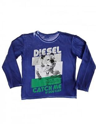 Diesel Kid T-Shirt Trinni (blau/weiß/grau/grün)