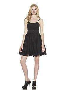 Preen Line Women's Bianca Twill Skirt (Black)