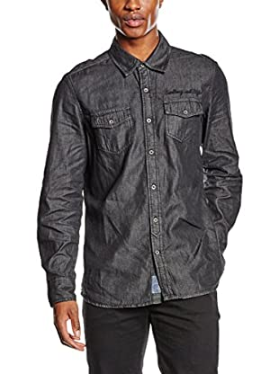 PAUL STRAGAS Hemd Denim Long Sleeve