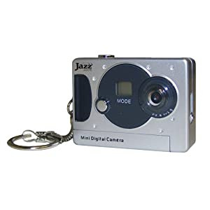 Jazz JDC5 3 in 1 Digital Keychain Camera (Black)