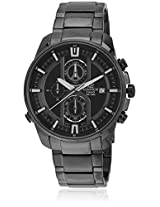 Efr-533Bk-1Avudf-(Ex142) Black/Black Chronograph Watch Casio