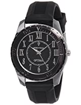 Optima Analog Black Dial Men's Watch - FT-ANL-2521