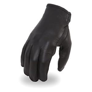 Men's Short Wrist Leather Driving Gloves