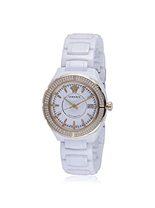 Versace Women's 02ACP11D001 SC01 DV One Diamond & White Ceramic Watch