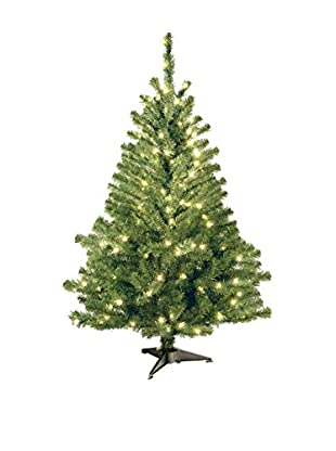 National Tree Company 4' Kincaid Spruce Tree with 100 Clear Lights
