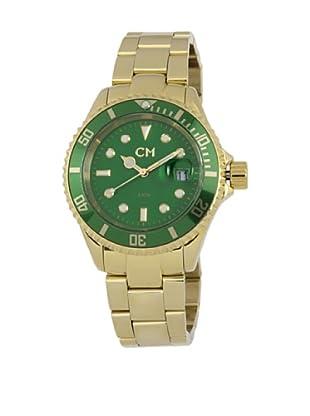 Carlo Monti Herren Armbanduhr XL Varese Analog Edelstahl beschichtet CM507 299