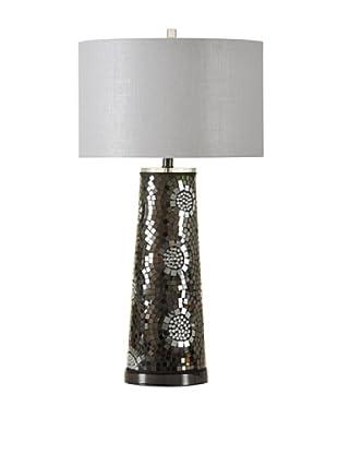 StyleCraft Mosaic Mirror Table Lamp, Tasmin