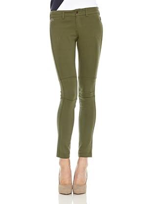 Spagnolo Pantalon Punto Fayette (Verde)