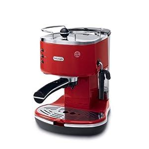 Delonghi ICONA EC 310 1100-Watt Cappuccino and Espresso Coffee Maker (Red)
