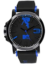 MTV Analog Multi-Colour Dial Men's Watch - B7015BL
