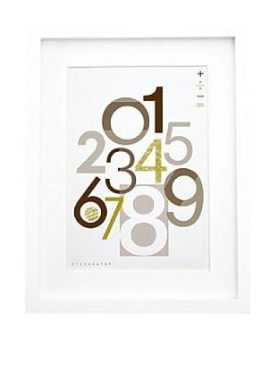 """Olli & Lime Charlie 123 Wall Art, 27.5"""" x 19.75"""""""