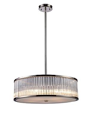 Artistic Lighting Braxton 5-Light Pendant, Polished Nickel