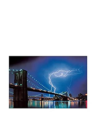 ARTOPWEB Panel Decorativo Brooklyn Bridge (Lightning)