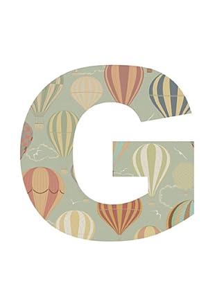 Letra Decorativa Letra G
