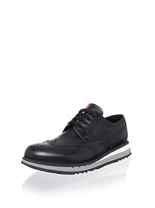 Prada Sport Men's Wingtip Lace-Up (Black)