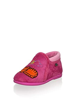 Conguitos Kid's Cat Slip-On (Fuchsia)