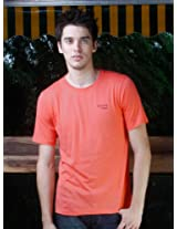 Austin - Original Series, Crew Neck T-Shirt - Slim |color: Ember Glow |Size: Small