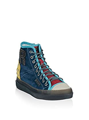 Ruco Line Hightop Sneaker 2211 Multy Suede