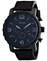 Fossil Analog Black Dial Men's Watch - JR1354