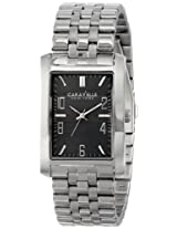 Caravelle New York Dress Analog Grey Dial Men's Watch - 43A118