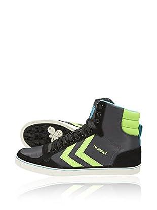 Hummel Sneaker Slimmer Stadil Poly Hg (schwarz)