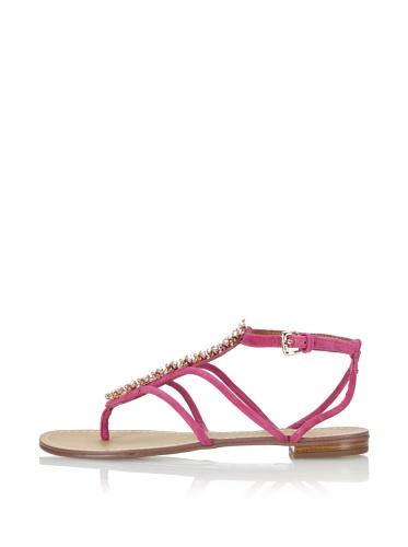 Boutique 9 Women's Phebe Flat Sandal (Purple)
