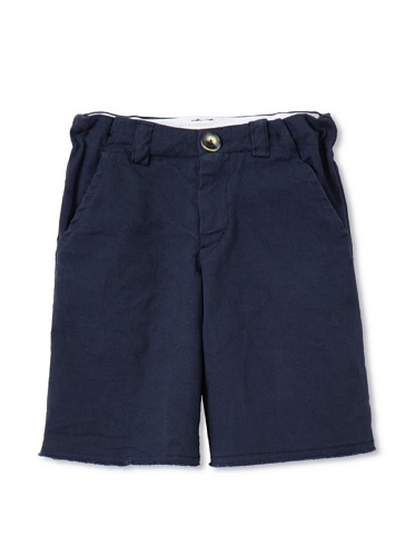 Upper School Boy's Cut-Off Shorts (Navy)