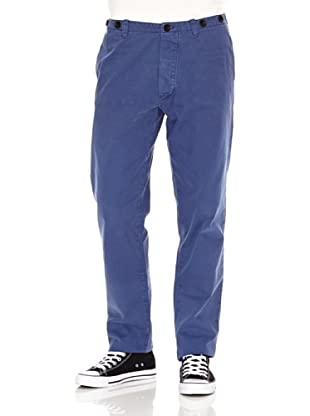 Nudie Jeans Pantalón Khaki Tight (Azul)
