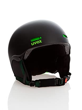Uvex Casco Ski Hlmt 5 Pure (Negro / Verde Neón)