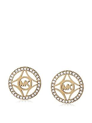Michael Kors Monogram & Pavé Stud Earring