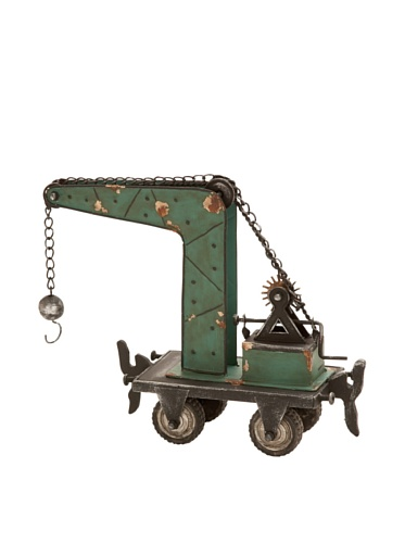 Industrial Chic Metal Tractor
