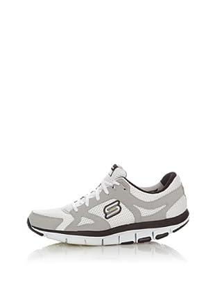 Skechers Deportivas Walking-Jogging Tecnología Liv (Blanco)