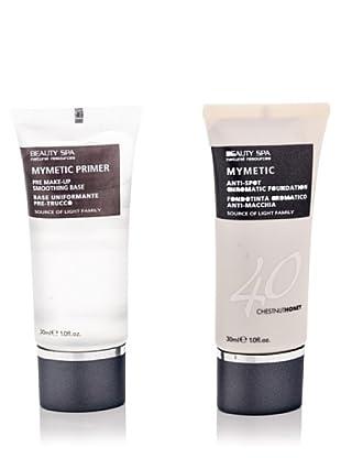 Beauty Spa Kit Mymetic Pelle Scura Primer Base Uniformante Per Trucco E Fondotinta Cromatico Anti Macchia