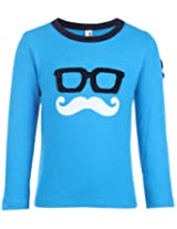 Babyhug Full Sleeves T Shirt - Spectacles Print