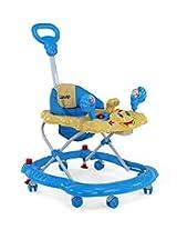 LuvLap Sunshine Baby Walker (Blue)