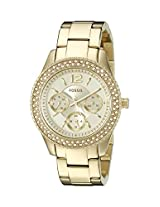 Fossil Stella Analog Gold Dial Women's Watch - ES3589