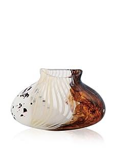 Viz Art Glass Savannah Flat Vase