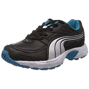 Puma Unisex Axis XT II Jr Ind Black Sports and Outdoor Shoes Kids Over 4 Years - 1-C UK