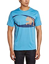Puma Cricket Training Tee, Large (Sharks Blue)