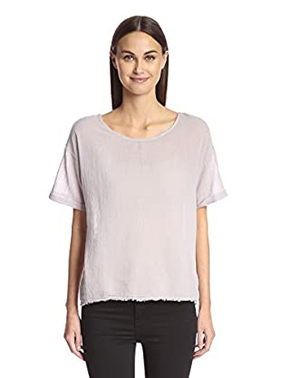 Velvet Women's Tee with Rolled Cuffs