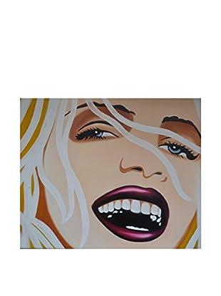 Legendarte Pintura al Óleo sobre Linezo American Beauty 50X60 Cm