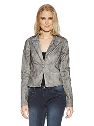 Cream Blazer Papaya Blazer (Gris)