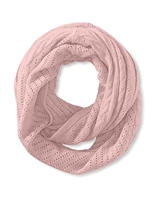 Cullen Women's Cashmere Multi-Texture Infinity Scarf, Blush