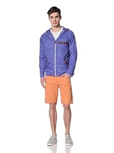 Marshall Artist Men's Lightweight Windcheater Jacket (Electric Blue)