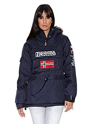 Geographical Norway Abrigo Building Lady Assor B (Uky) (Azul marino)