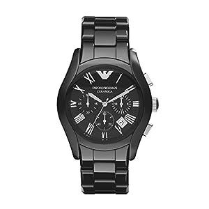 Armani Chronograph Black Dial Men's Watch - AR1400
