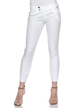 Crema Pantalón Pesquero Básico (Blanco)