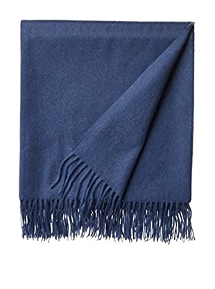 Amicale Cashmere Throw, Soft Denim