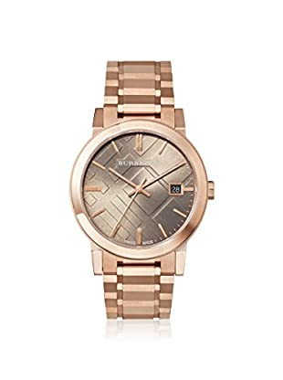 Burberry Men's BU9005 The City Rose/Brown Stainless Steel Watch